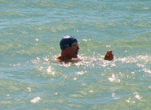 Frank Swimming